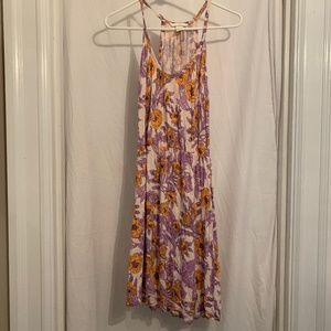 Orange and Purple Sundress